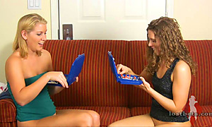 Ashley and Amber Play Battleship