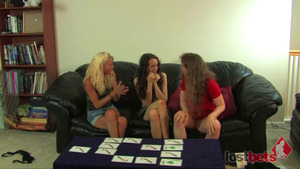 Strip Memory with Amberly, Lily, and Amber Heavens