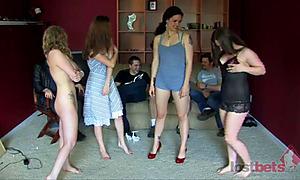 Strip Bizz-Buzz with Sarah, Kandie, Zayda, and Cara