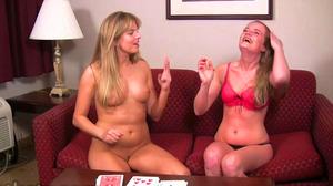 Ashton and Mia play Strip High Card