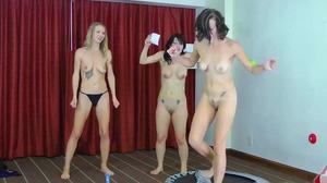 Strip Podstab with Lika, Kym, and Nikole (HD)