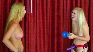 Strip Podstab with Kandii and Amanda (HD)