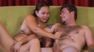 Strip Screw-Your-Neighbor with Angel, Lance, Kandii, and Xzavier (HD)